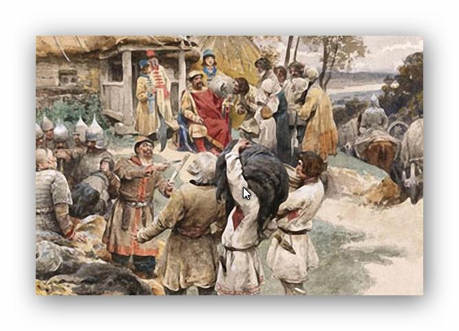 История меха в России