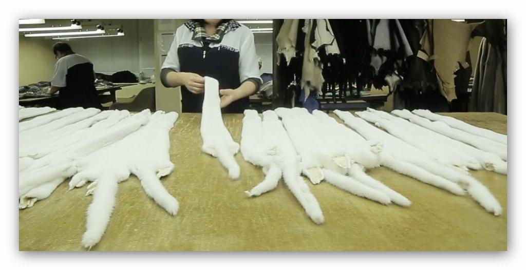 Купить шкурки норки на шубу в Челябинске