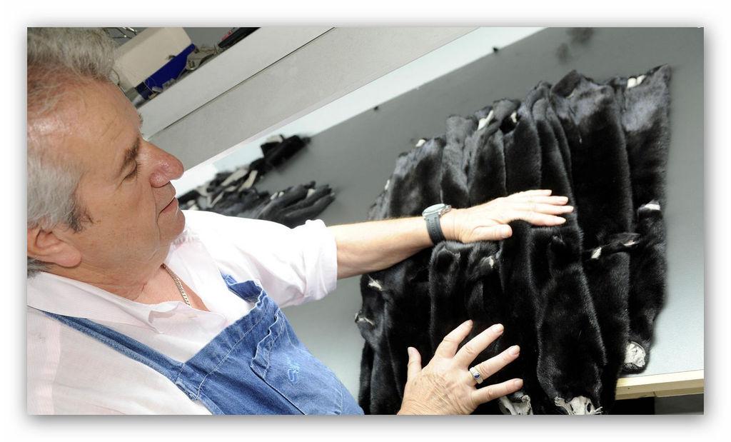Реставрация и ремонт шуб из меха норки в Челябинске