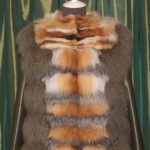 Пошив изделия из ламы и лисы