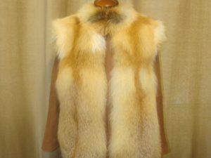 Пошив куртки из лисы