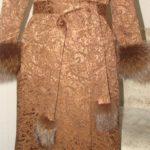 Пошив пальто с мехом