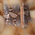 Пошив шубы из рыжей лисы