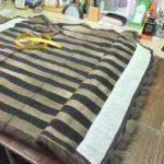 Шуба из куницы тёмная пошив в меховом ателье Челябинска